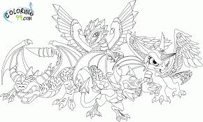 skylanders giants coloring pages colorine net 12164