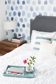 Blue And White Bedrooms Bold Blue And White Bedroom Reveal Orc Week 6 Diy Passion
