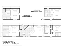 Double Wide Trailers Floor Plans by 28 X 80 Double Wide Mobile Home Floor Plan Norris Double Wide