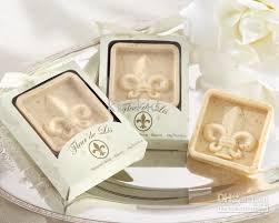 soap favors fleur de lis scented soap wedding favors iris christmas gift new
