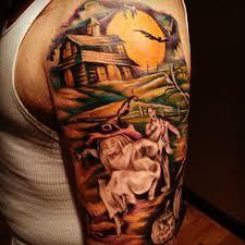 seasonally ghoulish and creative halloween tattoos