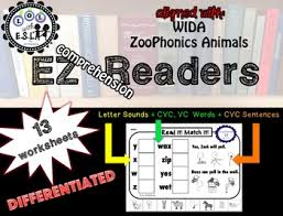 cvc reading comprehension worksheets for beginners rti wida by