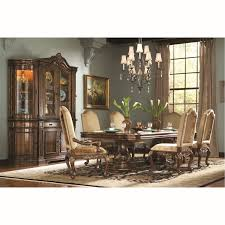 Double Pedestal Dining Room Tables Hooker Furniture 698 75 206 Beladora Double Pedestal Dining Table