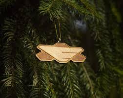 battlestar galactica tree ornament adama starbuck