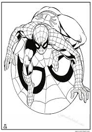 spiderman coloring pages free 10