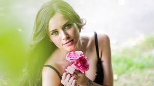 wallpaper girl beautiful hot wallpaper beautiful woman hot girl pink roses 5k lifestyle 3842