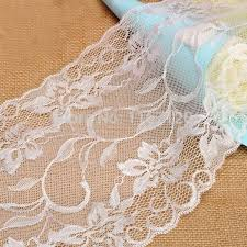 ivory lace table runner 3 0 17m ivory lace chic floral table runner vintage rustic wedding