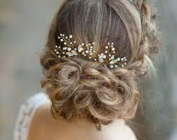 bridal hair pins set of 3 hair pins bridal hair pins silver hair pins