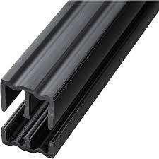 Glass Sliding Door Tracks For Cabinets Black 4 Foot Plastic Sliding Door Track Home