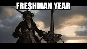 Pirates Of The Caribbean Memes - college in a nutshell gif on imgur