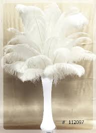 Ostrich Feather Centerpiece Ostrich Feather Centerpieces The Ultimate Wedding Project