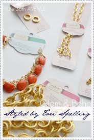 diy jewelry styled by tori spelling the 36th avenue
