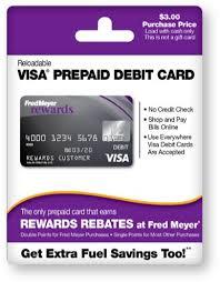 pre paid card temporary visa card fred meyer prepaid debit card