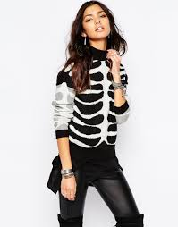 Halloween Skeleton Bodysuit Shop Halloween Clothes Accessories And Jewelry