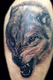 luka pagan snarling wolf wiccan wolf tattoos for