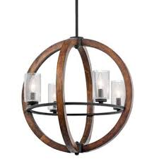 Kichler Lighting Chandelier Kichler Lighting 43185aub Grand Bank Four Light Chandelier