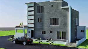 home architect design in pakistan 3d front elevation com 10 marla modern architecture house plan