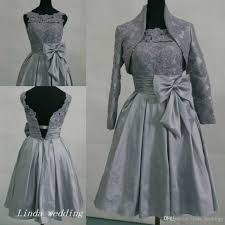 silver grey dresses wedding silver grey bridesmaid dress modest taffeta with bow lace