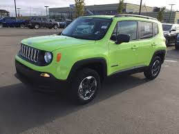 jeep sport green new 2017 jeep renegade 4x4 sport power options air conditioning