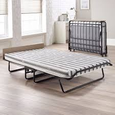 Folding Guest Bed Jay Be Supreme Double Folding Guest Bed With Airflow Fibre Mattress