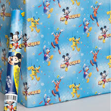 doc mcstuffins wrapping paper disney junior mickey and the roadster racers