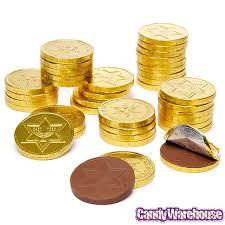 hanukkah chocolate coins chanukah gelt gold foiled milk chocolate coins 5lb bag