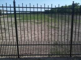 decorative iron fence panels home u0026 gardens geek