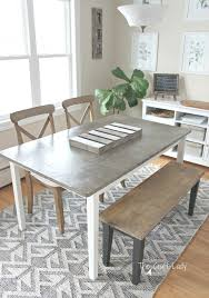 diy concrete dining table diy concrete table top 2 years later the crazy craft lady
