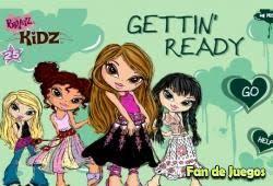bratz games girls beautiful making