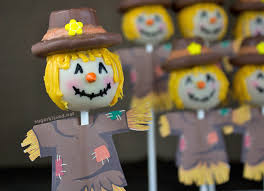 to make scarecrow thanksgiving cake pops
