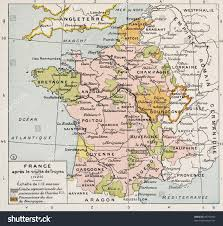 France Political Map by Political Map France 1420 By Paul Stock Photo 94753993 Shutterstock