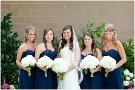 marine bridesmaid dresses blue wedding with bill levkoff bridesmaids dresses in marine