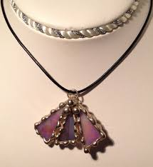 glass necklace pendants images Stained glass pendant jewelry hartizn jpg