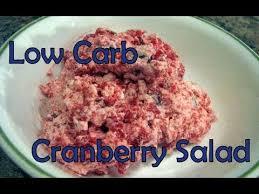 atkins diet recipe low carb cranberry salad