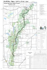 Moraine State Park Map by Glacial Trail 50 Mile U0026 50k Badgerland Striders