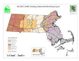 Mass Map Freshwater Quality Indicator Watershed Counts