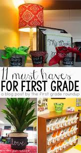 11 must haves for teaching 1st grade firstgraderoundup