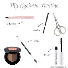 How To Tweeze Your Eyebrows How To Fill In Your Eyebrows In 6 Easy Steps The Styled Press