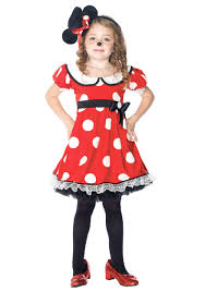 Halloween Costumes Mickey Minnie Mouse Girls Adorable Mouse Costume