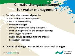 Challenge Water On Preparing For Climate Chage Iwrm As A Practical Approach To Climate C