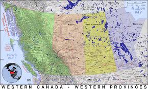 Map Of Western United States by Western Canada Public Domain Maps By Pat The Free Open Source