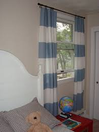 Kids Room Curtains by Home Decoration Best White And Gray Horizontal Striped Curtains