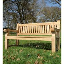 1 5m teak memorial park bench