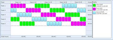 shift pattern generator online 5 3 5 4 5 3 ten hour rotating shift pattern 24 7 shift coverage