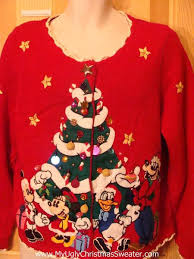 sweater pluto micky minny