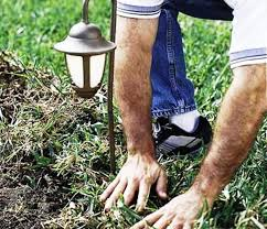 How To Install Outdoor Landscape Lighting How To Install Outdoor Landscape Lighting Replace The Sod