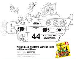 william bee u0027s wonderful world of trains boats and planes