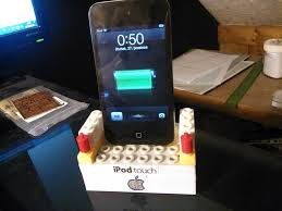 diy charging dock diy ipod iphone dock lego edition