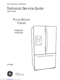 pfss6nkw ge refrigerator service manual refrigerator