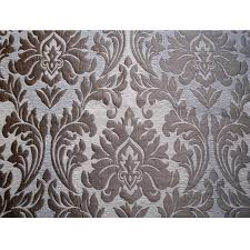 Upholstery Fabric For Curtains Ivory Gold Chenille Damask Curtain Fabric Upholstery Fabric